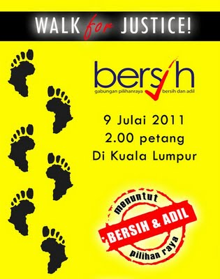 foto Panduan Ringkas Perhimpunan Bersih 2.0