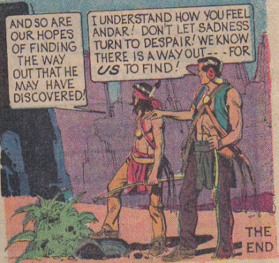 I think a lot of Turok's comics end like this.