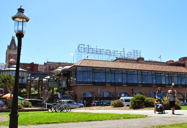 Ghirardelli Square in San Francisco, California | Em Then Now When