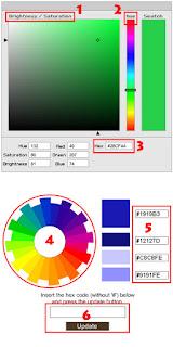 Cara Sederhana Memasang Kode Warna Di Blog