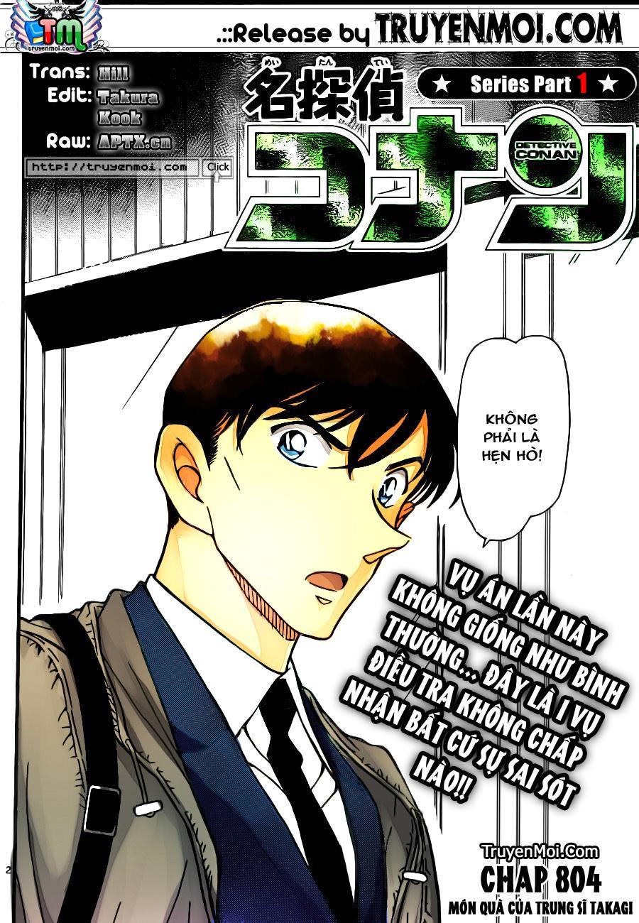 Thám Tử Lừng Danh Conan - Chapter 804 - Pic 2
