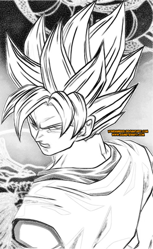 dragon ball z coloring pages - Dragon Ball Coloring Pages Goku