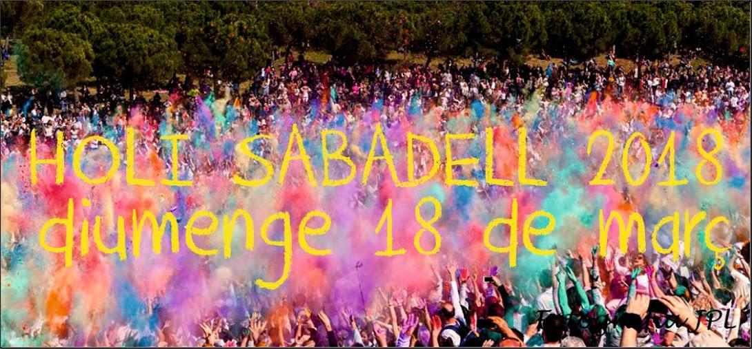 HOLI SABADELL (BARCELONA) 2016 - LA MILLOR FESTA DE HOLI DE CATALUNYA!!