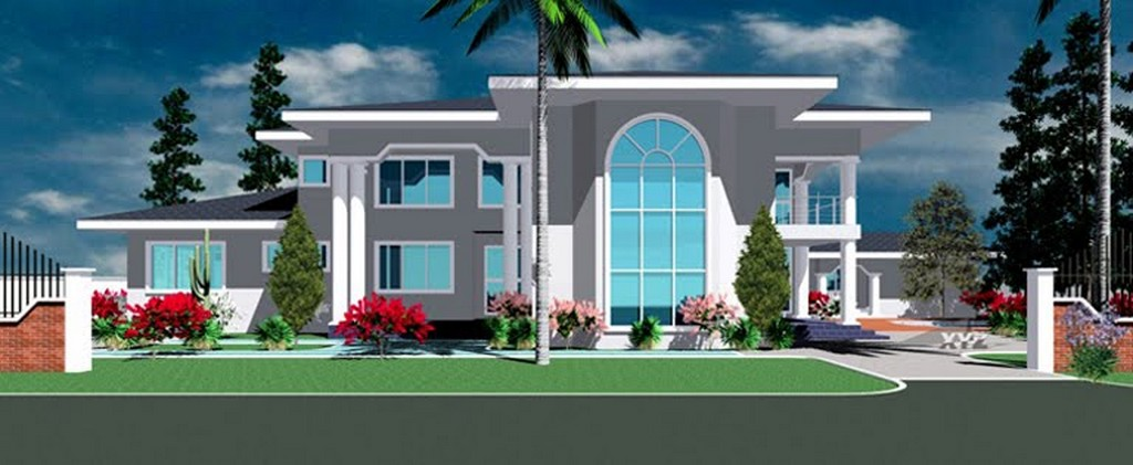 New home designs latest ultra modern homes designs exterior front views Ultra modern contemporary house plans