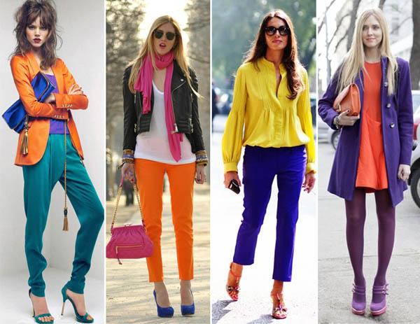 Tudoocomtudoo moda color block - Colores para combinar ...