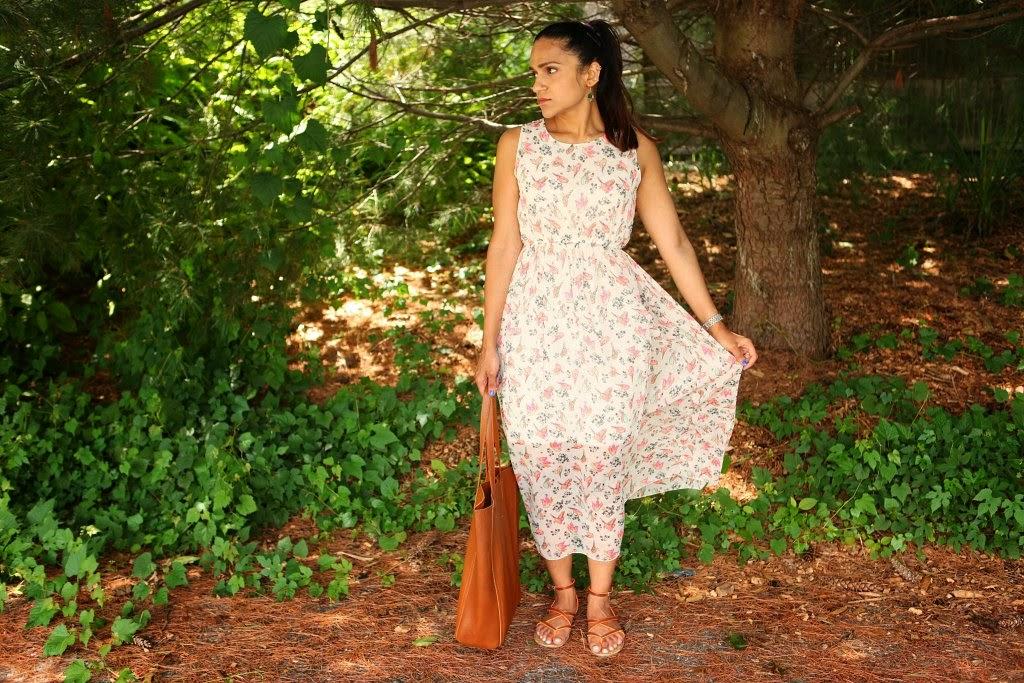 Maxi - Flea market find, Shoes - Report, Bag - Cuyana, Tanvii.com