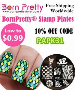 10% zniżki w sklepie Born Pretty Store