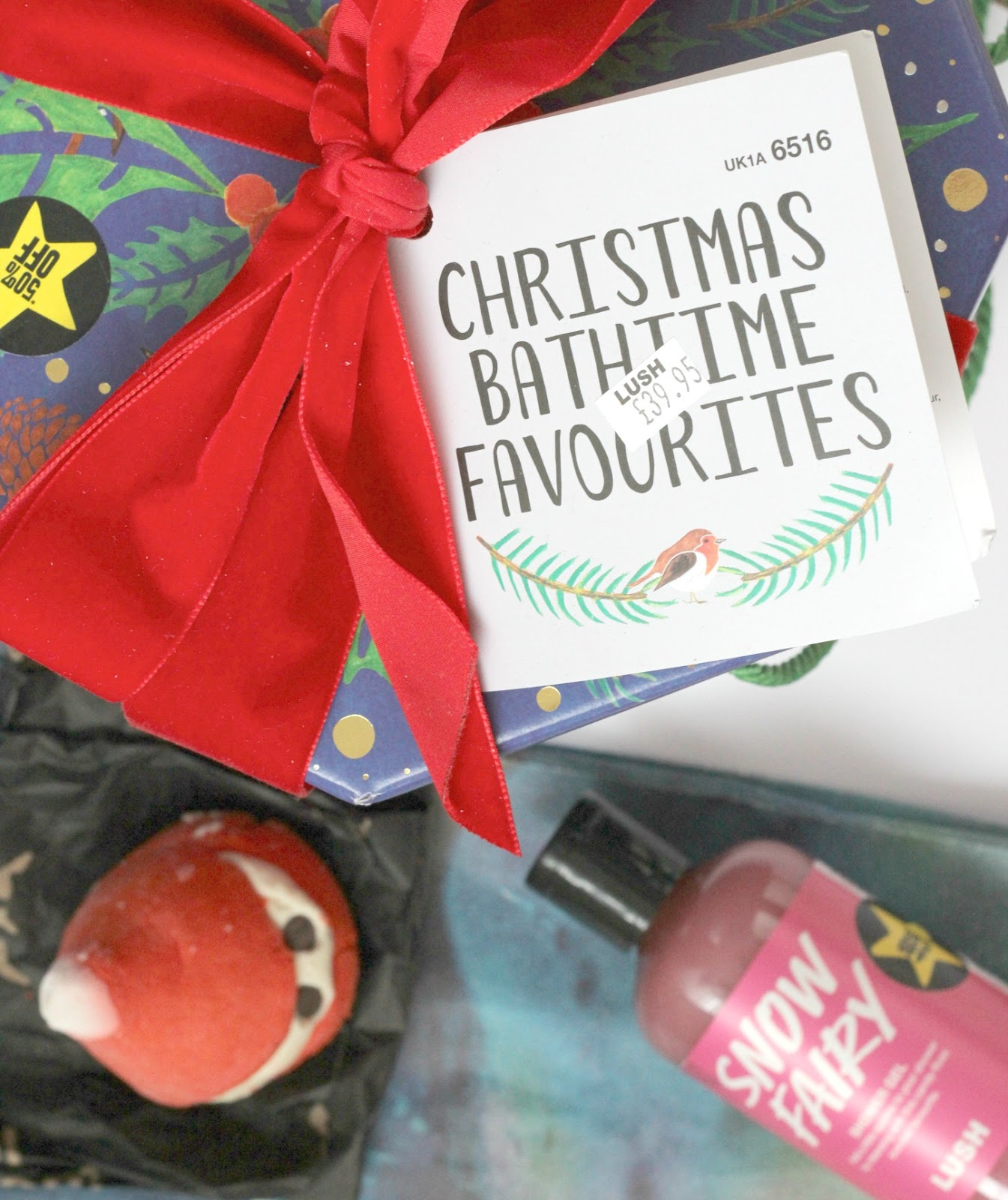 Christmas Bathtime Favourites