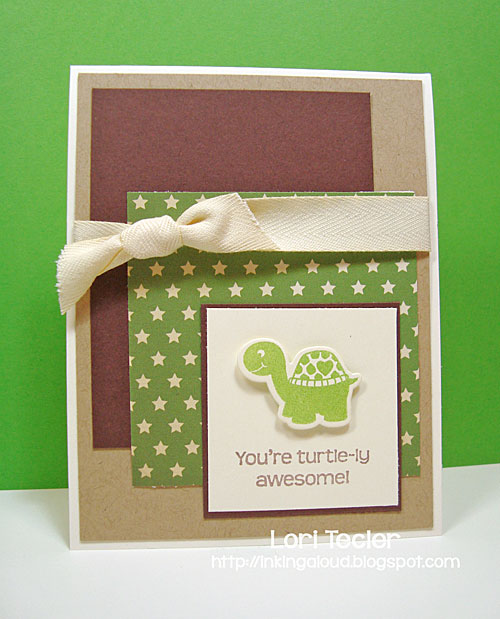 Turtle-ly Awesome card-designed by Lori Tecler/Inking Aloud-stamps and dies from WPlus9