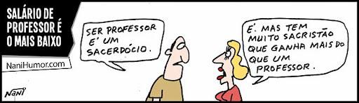 Salário de Professor