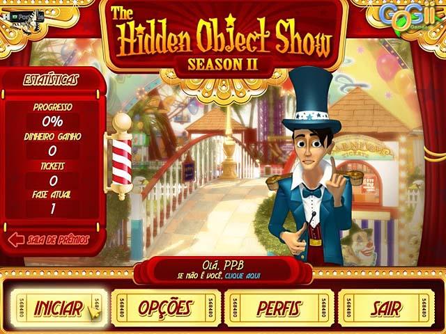 The Hidden Object Show - Season II PT-BR Portable