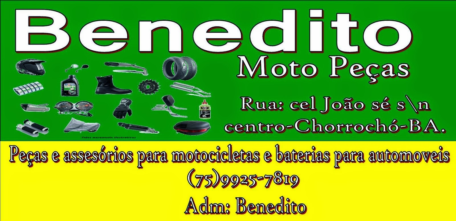 Benedito Moto Peças