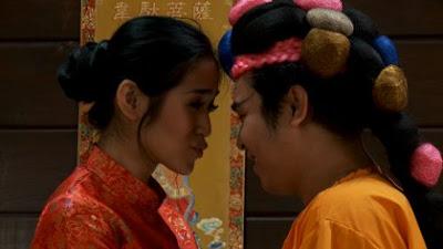 Gambar Foto Video Olga Syahputra Ciuman Bibir dengan Jessica Iskandar
