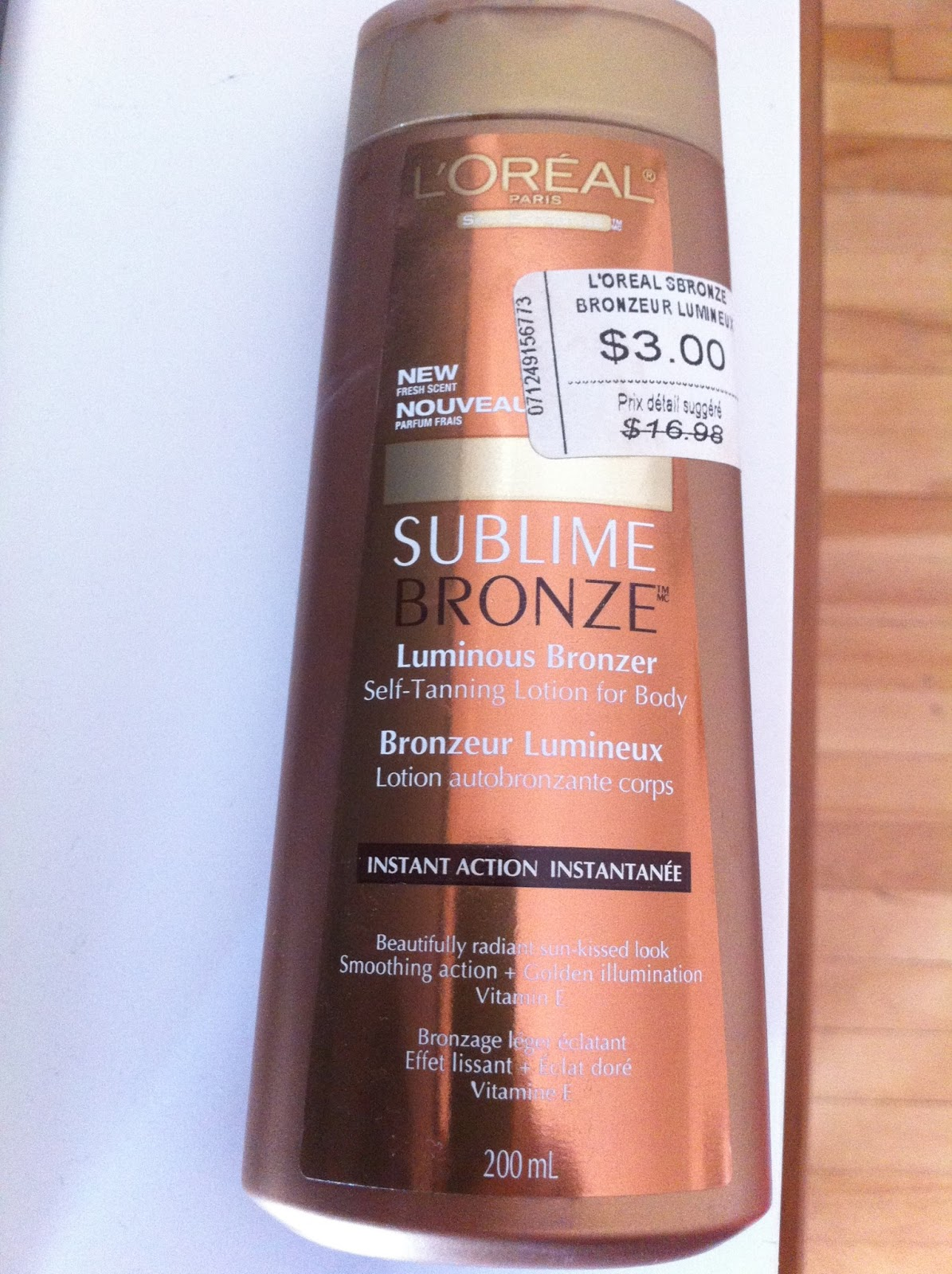Sublime Bronze (bought at the L'Oreal Warehouse Sale!)