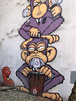 'See No Evil', Nelson Street Bristol