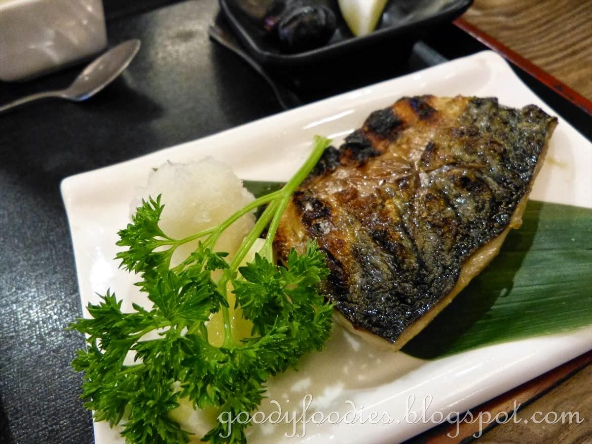 GoodyFoodies: Set Lunch @ Kiraku Japanese Restaurant, Cyberjaya ...
