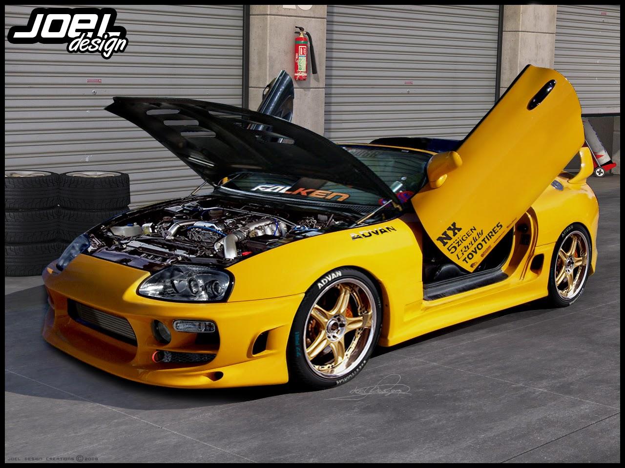Οδηγήστε και σεις μια υπέροχη Toyota Supra!