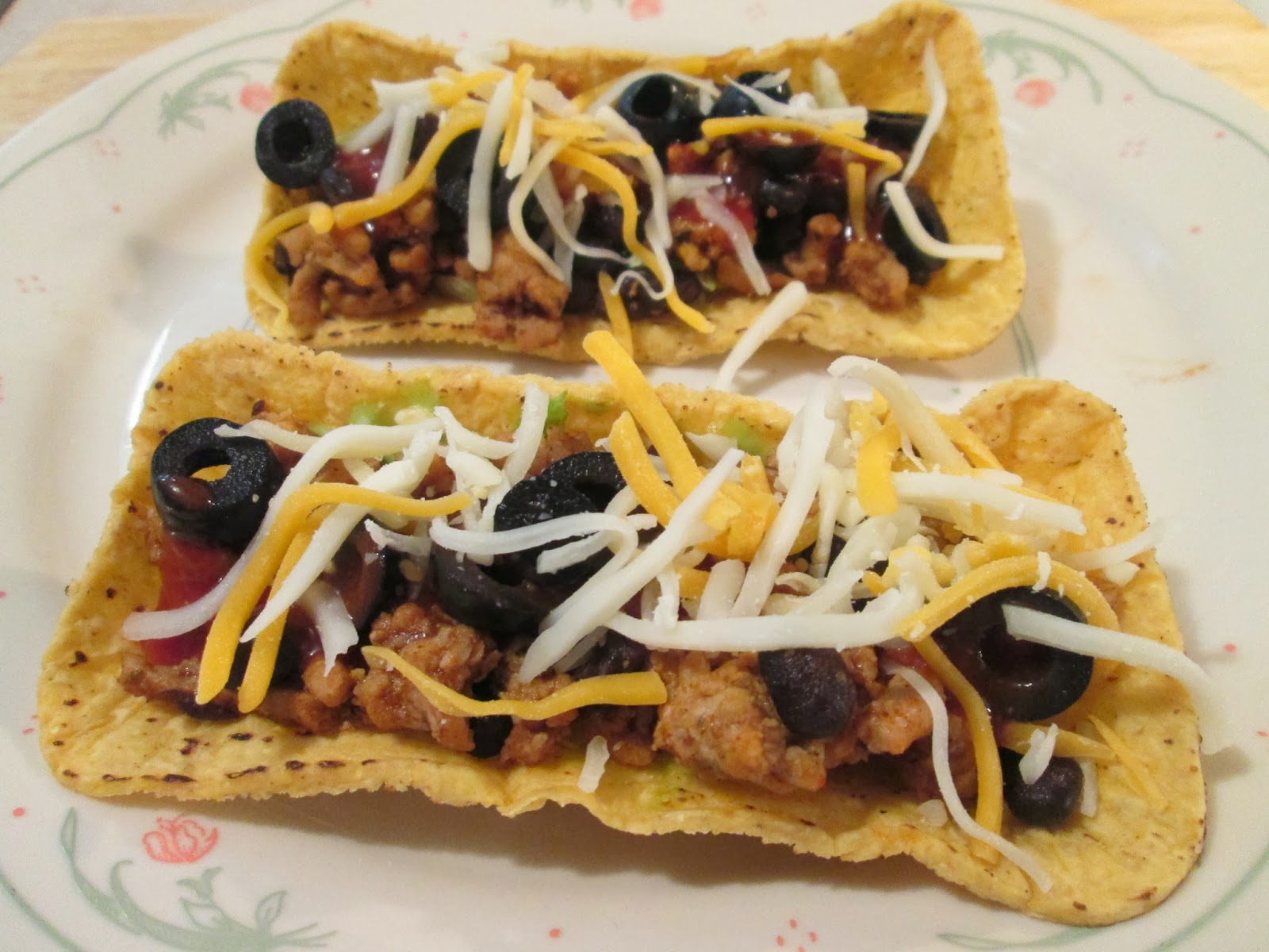 black bean and turkey tacos with fiesta flats tacos