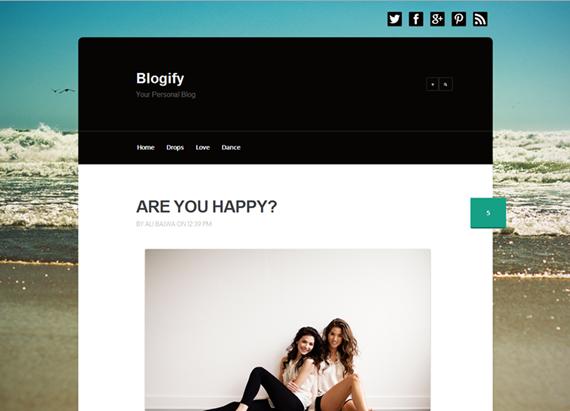 Blogify Responsive