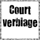 Court Verbiage