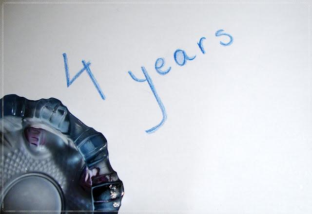 cetri godine pepeljara