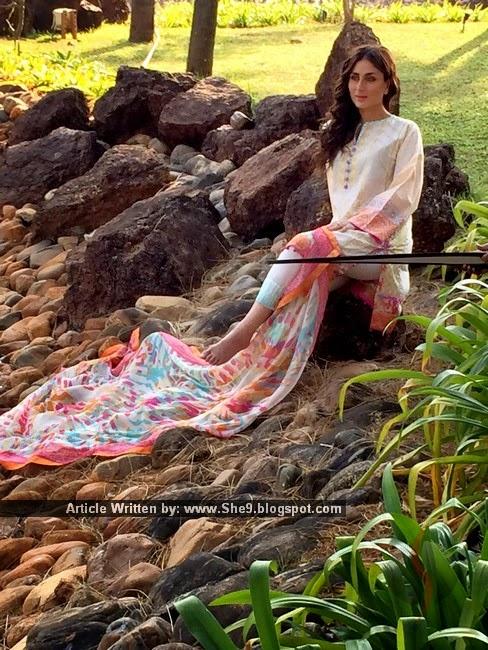 Faraz Manan's Crescent Lawn with Kareena