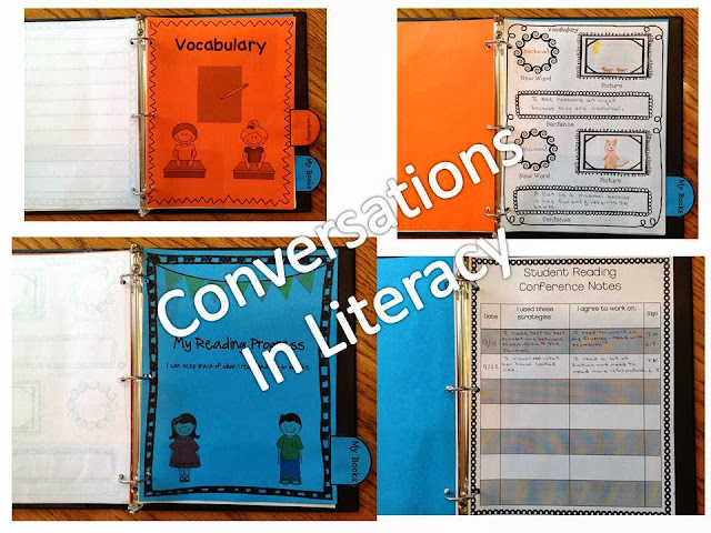 Using an interactive reader's notebook that is easy to use