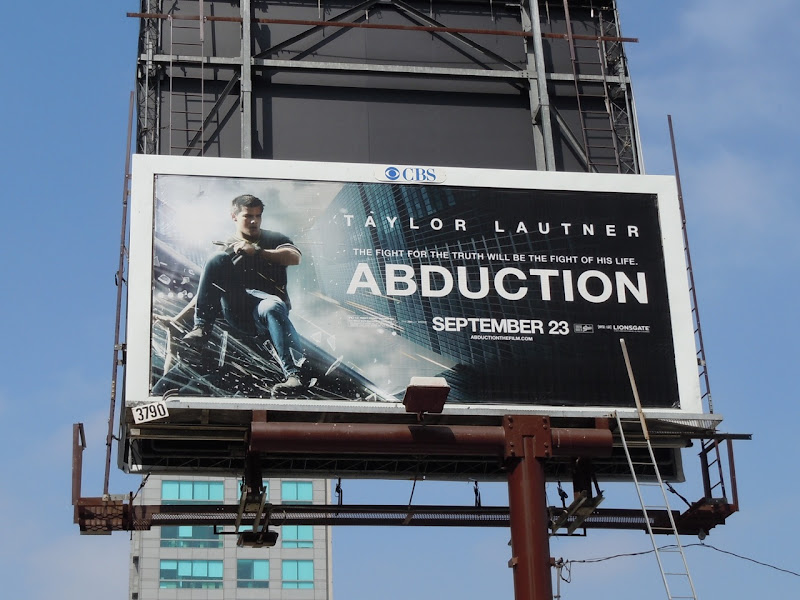 Taylor Lautner Abduction billboard