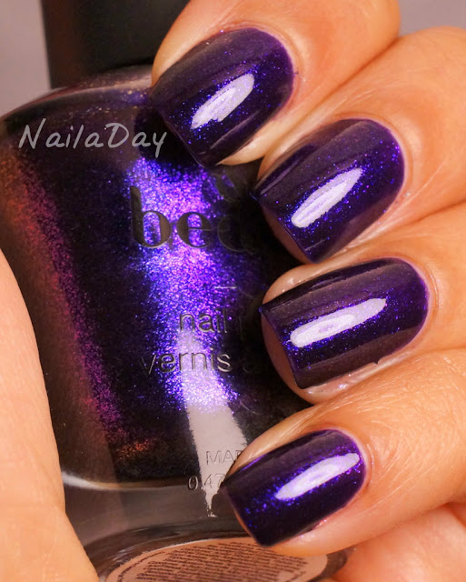 NailaDay: Love and Beauty Dark Purple