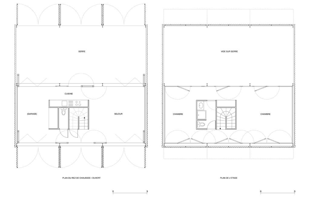 Proyectos8 fez conociendo for Plan maison en y