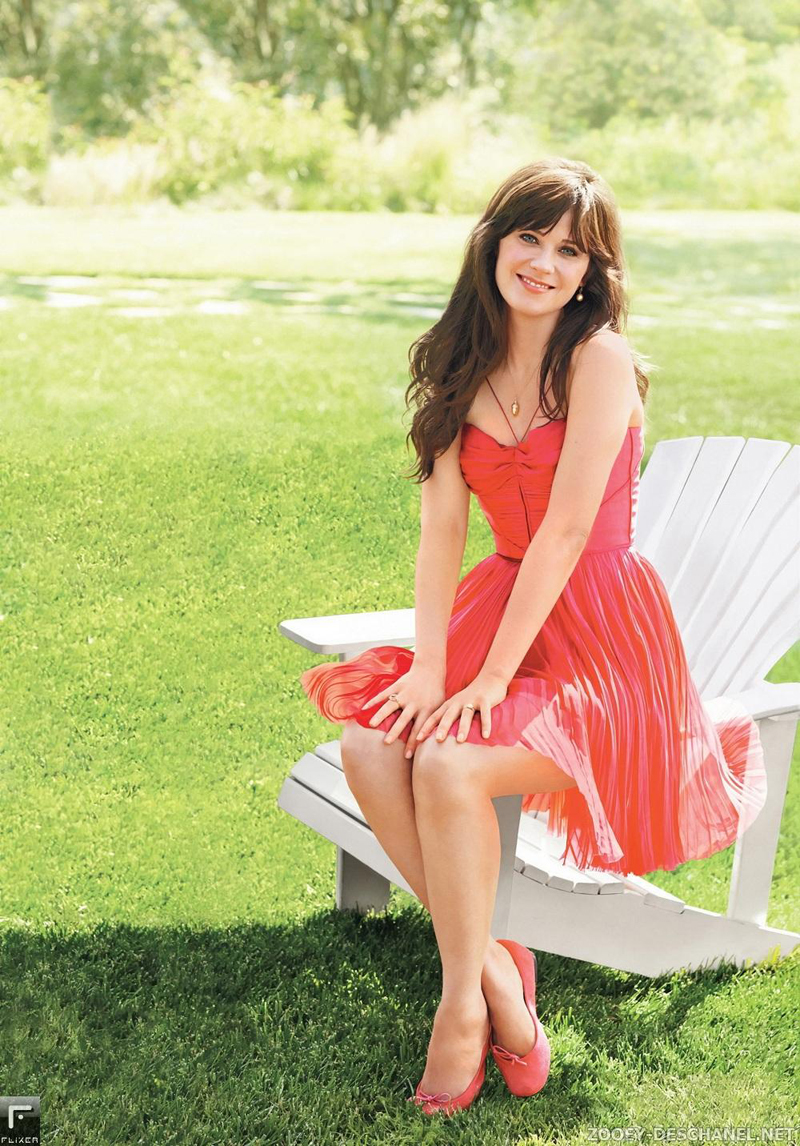 Fresh Look Celebrity Zooey Deschanel Hairstyles 57