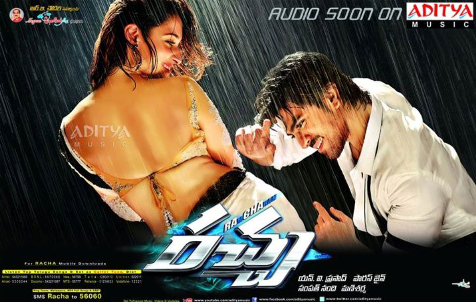 Ramcharan New film racha official posters, wallpapers, & images released