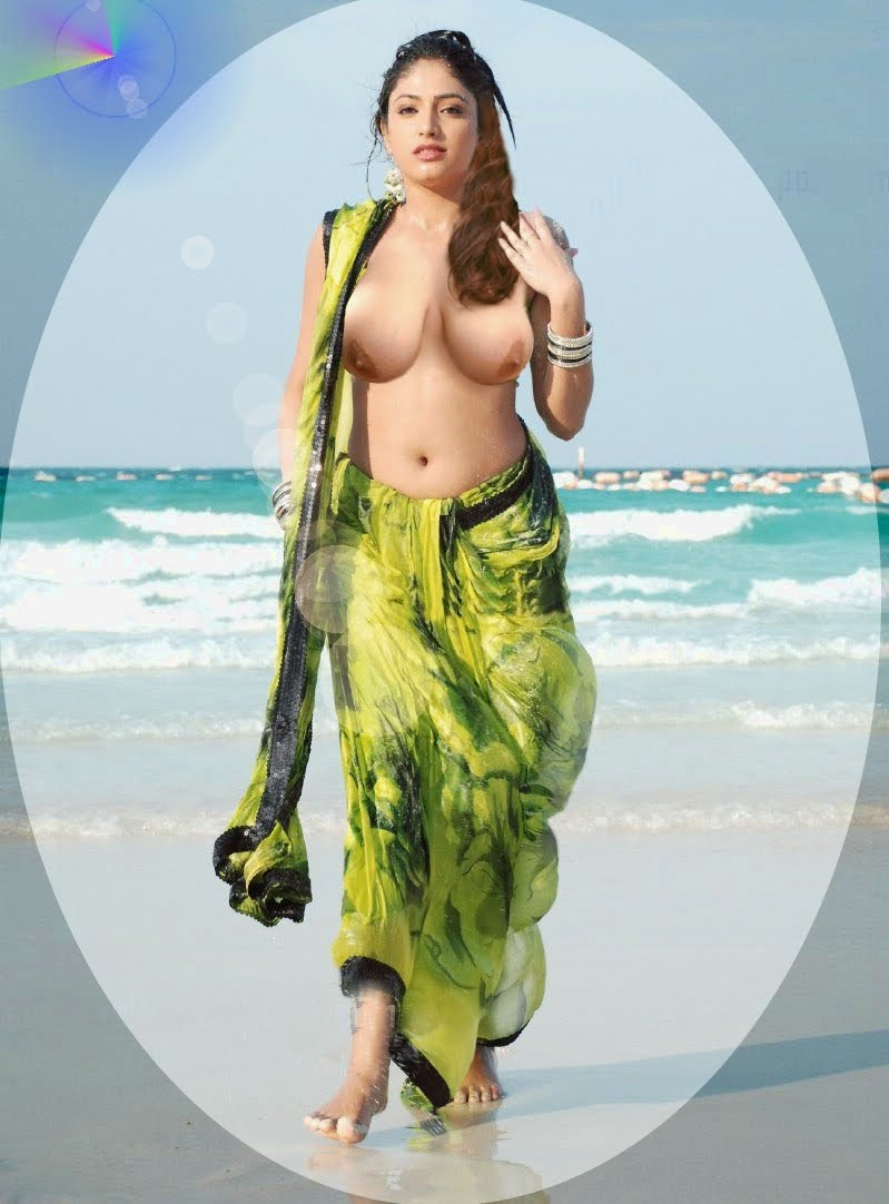 Hari Priya Boob Show Fake Nude