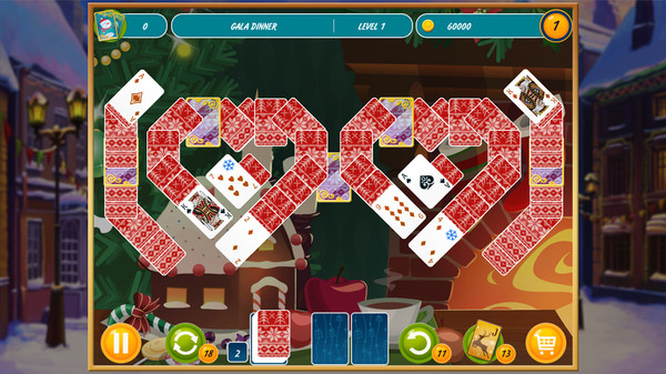 Solitaire Christmas Match 2 Cards PC Game Download