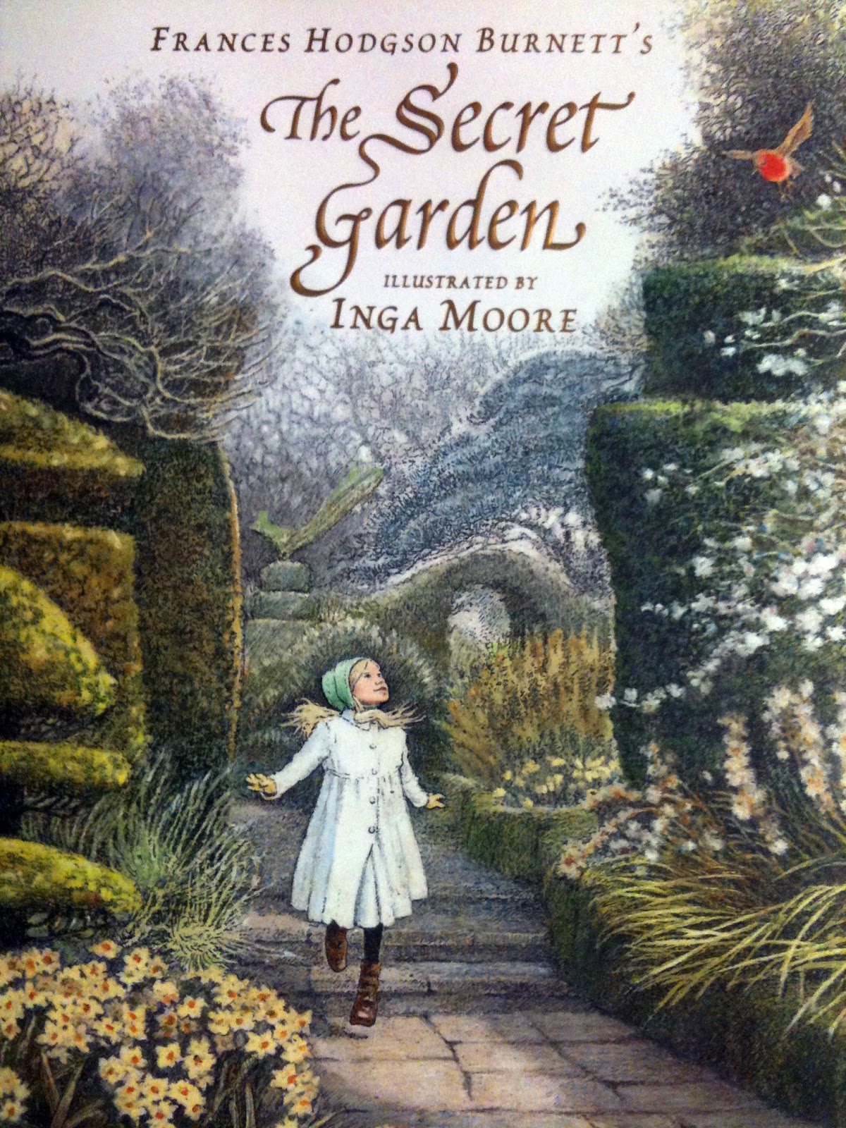 Surface fragments children 39 s illustration artist profile inga moore - El jardin secreto frances hodgson burnett ...