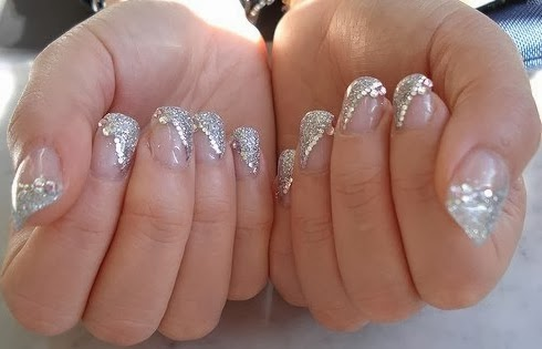 - Beautiful Nail With Acrylic Nail