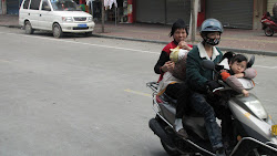 Four on one motorbike.