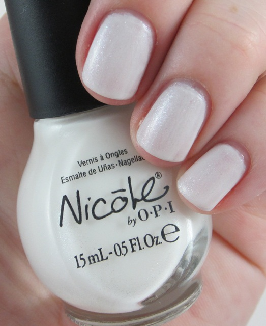 White Nail Polish In Winter