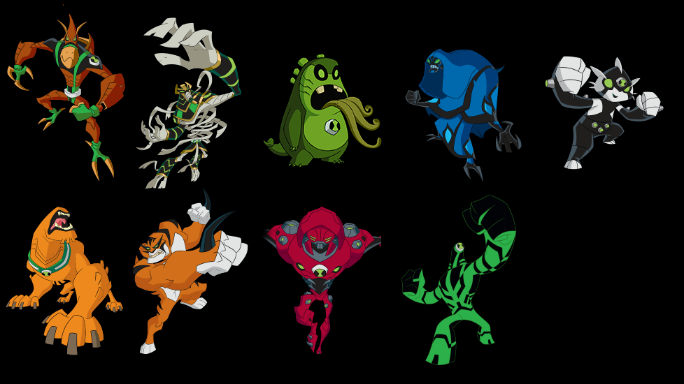 Ben10 omniverse new poses updated