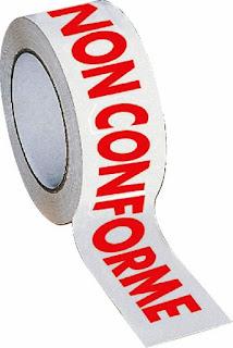 registrazione di non conformità