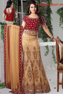 laa kurta beautiful lacha collection