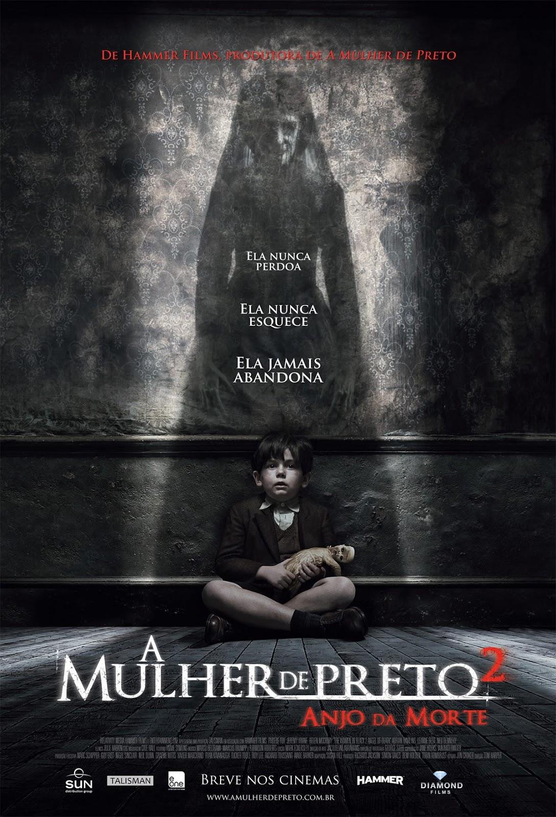 A Mulher de Preto 2: O Anjo da Morte poster nacional