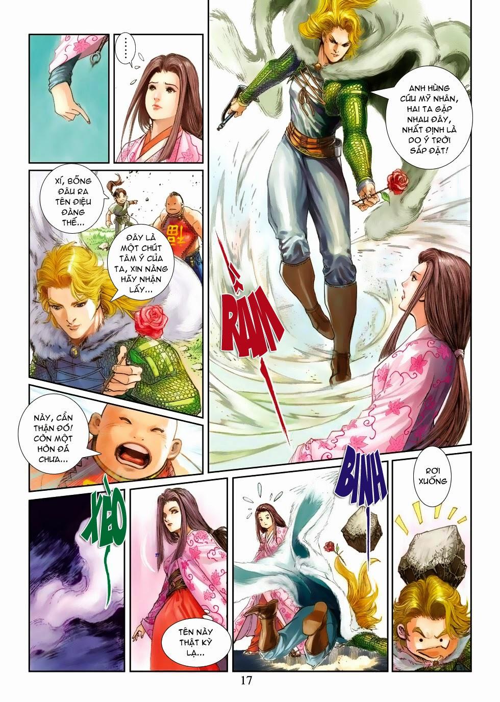 Thần Binh Tiền Truyện 4 - Huyền Thiên Tà Đế chap 3 - Trang 17