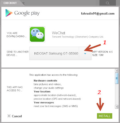 cara download aplikasi android