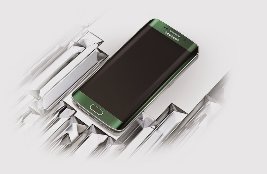 Samsung Galaxy S6 resmi diperkenalkan, degan layar lengkung sisi kiri dan kanan