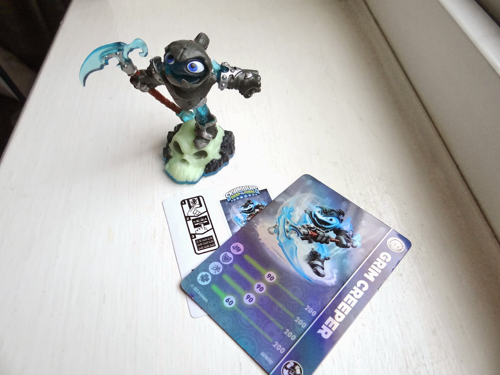 Grim creeper skylanders lightcore grim creeper