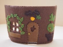 Felt Squirrel's House
