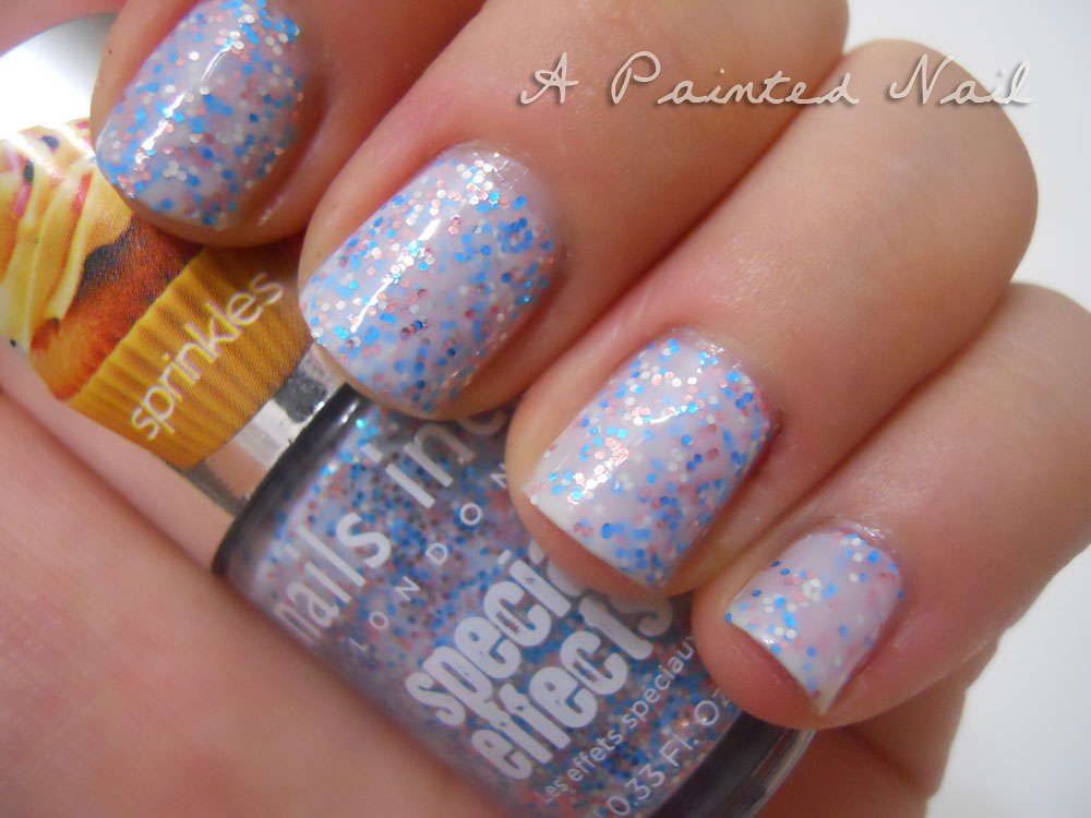 A Painted Nail: Nails Inc Special Effects: Sprinkles in Sweets Away