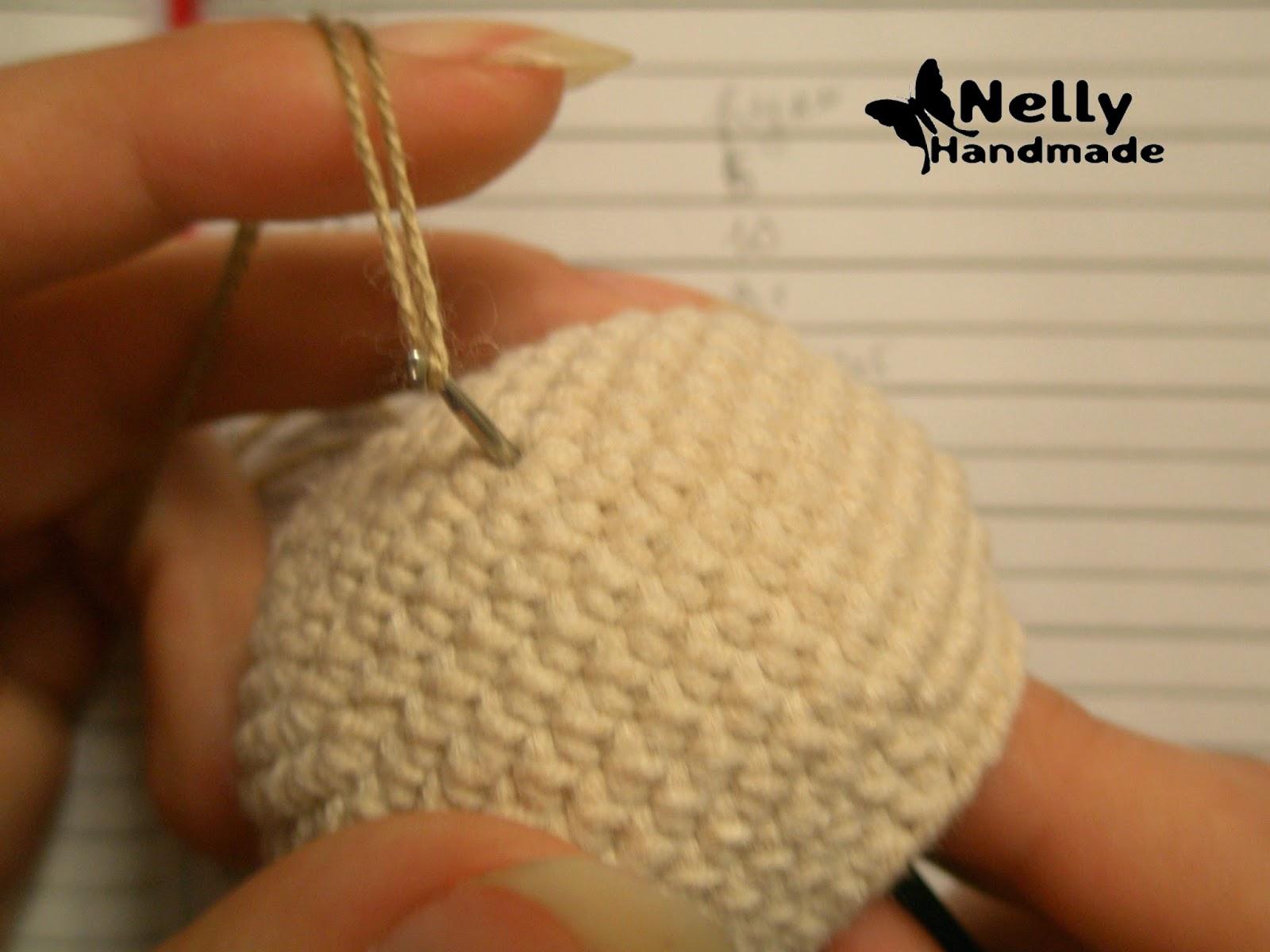 Как из ниток сделать волосы вязаной кукле
