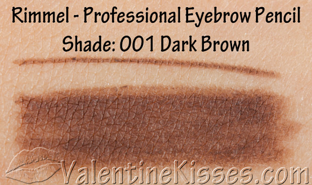 Eyebrow pencil for dark red hair